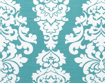 Berlin Coastal Blue Premier Prints Home Decor Upholstery Premier Prints-Floral Blue-Berlin- 1 yard or more