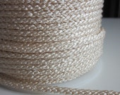 3 Metres 4mm Cream Lacing Cord