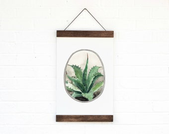 Agave- Hanging Archival Poster