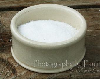 Small Ivory Kitchen Prep Bowl Salt Cellar Catch-all