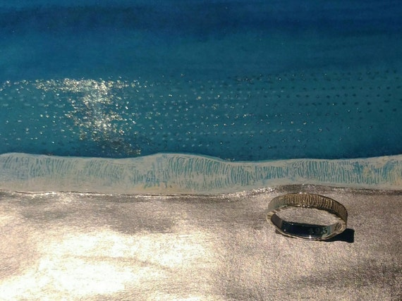 O-cean // 925 Sterling Silver Ring // Made to Order