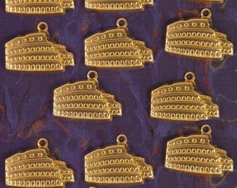 13 Brass Roman Colosseum Coliseum Charms