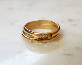 CUSTOM WORD RING