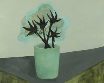 Peonies - Original Painting by Elizabeth Bauman
