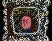 Fine Art - Bead Embroidery - Forbidden Fruit