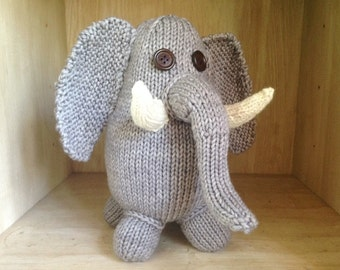 Everett the Elephant Pattern, PDF, Instant Download