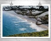 Point Reyes, Ocean Wall Art, California Coast, California Beach, Seascape Art, Coastal, Seacoast, Seaside, Silhouette, Fine Art Photography