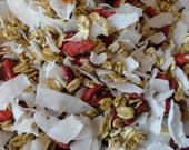 ORGANIC Hermit Crab Food Maple Trail Mix by Crabotanicals all natural pet food treat with Goji Berries and Chia Seeds!