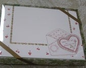 Susan Branch When This You See Remeber Me Heart Design Vintage 8 Invitations & Envelopes