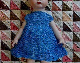 Porcelain Doll, 10 inch, Vintage