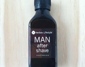 Herban Lifestyle Man After Shave Vegan with Organic Ingredients
