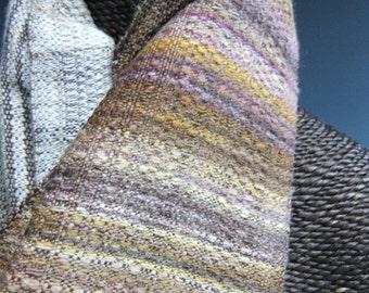 Handwoven Scarf: Turkey Tail