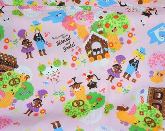 1 meter November book  series Japanese Fabric Fairy tales Hansel and Gretel