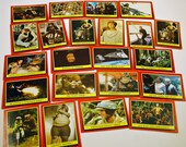 Vintage 1983 Star Wars Return of the Jedi trading cards