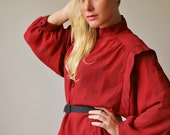 1970s Angle of California Dress >>> Size Large to Extra Large