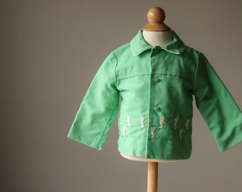 1960s Spring Seahorse Jacket, size 6-12 months
