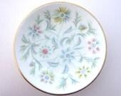 Minton Vanessa Bone China Pin Dish / Trinket Dish - small jewellery / jewelry storage bowl - S-678
