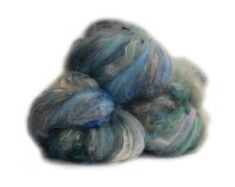 Fibres en folie n 497 handcarded batts fibers