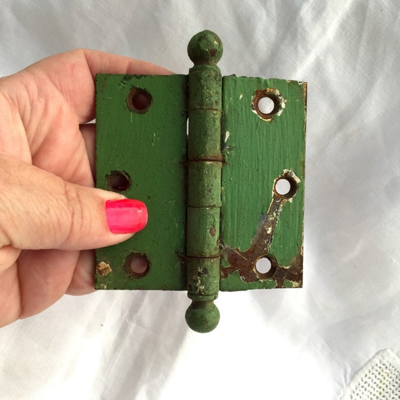Antique Brass Hinge on Etsy