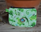 Dog Poopie Pouch Coin Purse - Lizards and Frogs