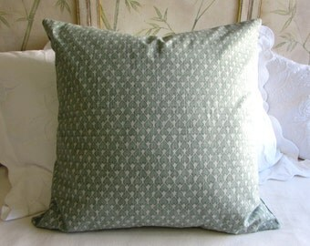 EURO PILLOW COVER 26x26 diego/seagrass
