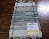 Handmade woven runner, (Mount Hood)-112b