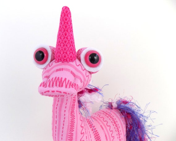Unicorn Toys For Girls : Cute unicorn toy toys for girls pink alien by
