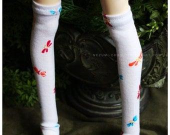 ABJD Dollfie SD Delf CP Musedoll cute dragonfly overknee socks