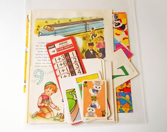 Vintage 25 Piece Craft Supplies for Papercraft Inspiration Kit Paper Pack Scrapbooking Ephemera