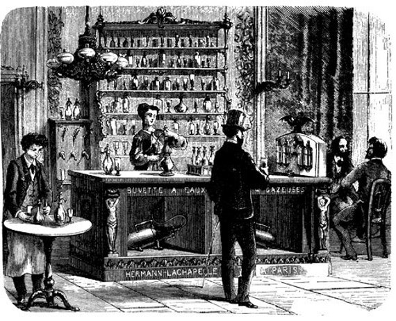 French Bar tavern png clip art Digital art Image Download graphics victorian people drinking alcohol Paris France