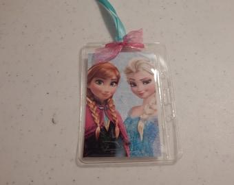 Luggage Bag Tag ID Holder  Disney Frozen
