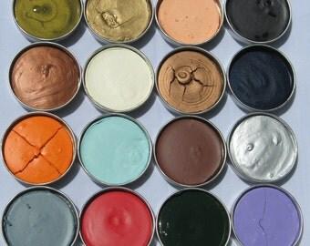 Baroque Art GILDERS PASTE Rub On Wax Metallic Wax for Metal Glass Resin Choose Color Wax Pigment Wax Paint