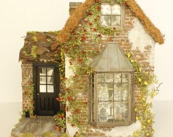 The Fairy Godmother's Cottage Custom Dollhouse