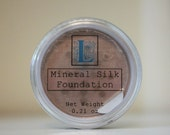 Mineral Silk Foundation by Blue L Essentials - For Normal, Combination, Oily and Blemished Skin