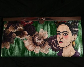 Frida Floral Wallet / Clutch