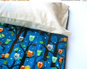 SALE Nap Mat Organic Pillow Case Sham Cover - ADD-ON for Eco Friendly Preschool Toddler Napmat Order, Handmade by SewnNatural