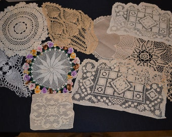 Doilies Crochet Collection.......Ten French Country
