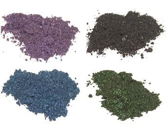 Fantasy Eyeshadow Set - Longlasting, Natural Eyeshadow, Loose Mineral Powder, for Sensitive Eyes, COSPLAY, THEATER