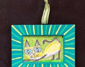 黒い耳のネコ・Black Eared Cat