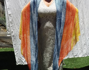 Orgazmic Sunset Shawl