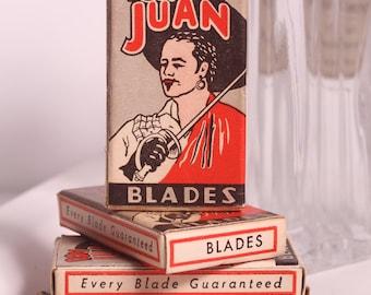 Vintage Don Juan Razor Blades Mint Condition Unused