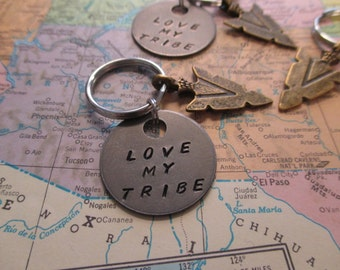 The Jimmy Key Chain - Love My Tribe Key Chain