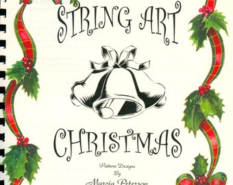 String Art Christmas PATTERN Book  2, 10 patterns in DIGITAL DOWNLOAD