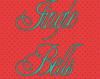 SVG jingle bells centered