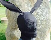 Black Lace Bunny Gimp Mask Tsukatta