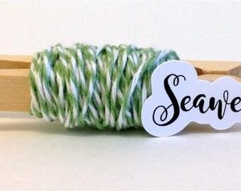 Seaweed Stripe Baker's Twine (15 yards)