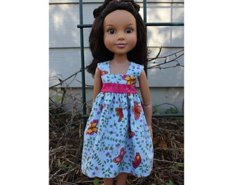 Butterfly dress for BFC Ink dolls