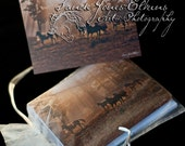 Assortment of Equine Themed Note Cards from Original Photos