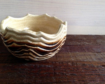 Desert Mountain - Bowl - Dish - Jewelry Keeper, Holder - Catch All - Sand, Dunes, Mountains