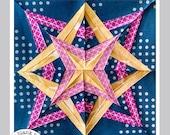 Star Gazing #227 - 24 inch - Paper Pieced Quilt Pattern